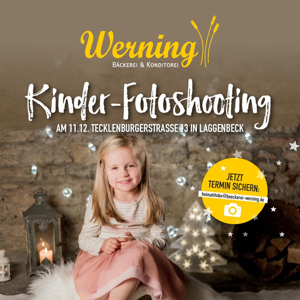 Kinder-Fotoshooting 'Weihnachten'